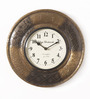 Shinexus Multicolour Metal Embossed 11.5 Inch Round Wall Clock