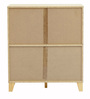 Shoe Rack in Light Ash Finish by Heveapac