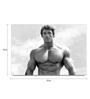 Shop Mantra Paper 19 x 13 Inch Arnold Schwarzenegger Vintage Pose Unframed Laminated Poster