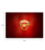Shop Mantra Paper 19 x 13 Inch Arsenal Fc Shield Unframed Laminated Poster