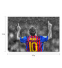 Shop Mantra Paper 19 x 13 Inch Messi Signature Pose Unframed Laminated Poster