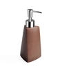 Shresmo Brown Polyresin Cube Soap Dispenser