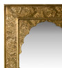 Adderley Decorative Mirror in Gold by Amberville
