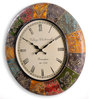 Taccone Wall Clock in Multicolour by Amberville