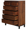 Tiber Chest Of Drawers in Premium Acacia Finish by Woodsworth