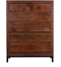 Tiber Chest of Six Drawers in Premium Acacia Finish by Woodsworth