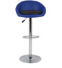 Simo Bar Chair in Blue and Black Color by The Furniture Store