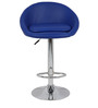 Simo Bar Chair in Blue Color by The Furniture Store