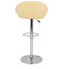 Simo Bar Chair in Cream Color by The Furniture Store