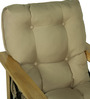 Single Seater Sofa in Beige Colour by Penache Furnishings