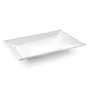 Sivica White Porcelain Serving Tray