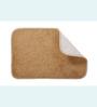 Skipper Beige Polyester Bath Mat