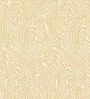 Skipper Beige Viscose Abstract Window Curtain