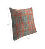 Skipper Grey & Red Polyester & Viscose 16 x 16 Inch Abstract Pattern Cushion Covers - Set of 3