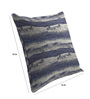 Skipper Navy Blue Viscose & Polyester 16 x 16 Inch Stripe Cushion Covers - Set of 3