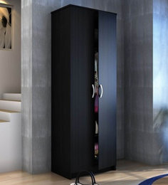 Sleeky Two Wardrobe In Wenge Finish By Exclusive Furniture