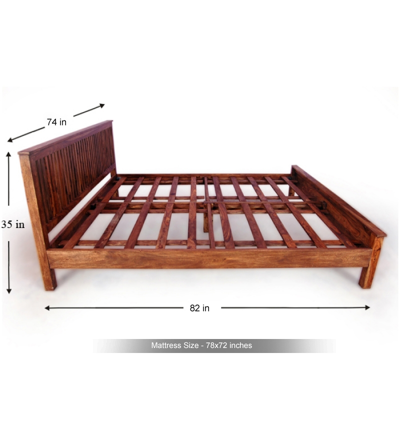 king size bed frame deluxe instamatic model