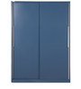 Slide N Store Wardrobe in Turquiose Blue Finish by Godrej Interio