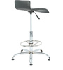 Slopy Bar Stool in Black by The Furniture Store