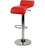 Slopy Bar Chair in Red Colour by The Furniture Store