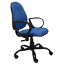 Smile Ergonomic Chair in Blue Colour by Starshine