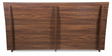 Snooze King Bed in Walnut Finish by Godrej Interio
