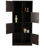 Snap Bookshelf in Chocolate Colour by Royal Oak