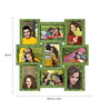 Snap Galaxy Multicolour Synthetic Wood 18.5 x 1.4 x 18.5 Inch Collage Photo Frame