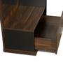 Snooze Dresser with Stool in Walnut Finish by Godrej Interio