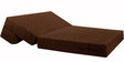 (Pillow Free) Sofa cum Bed (Queen Bed) in Brown Colour by Springtek
