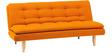 Soho Sofa Bed in Orange Colour by Furny