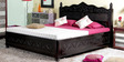 Somerville Queen Bed with Storage in Espresso Walnut Finish by Amberville