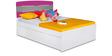 Solo Single Bed in Multicolor by Alex Daisy
