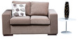 Sorocca Two seater Light Brown by Forzza