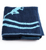 Softweave Blue Cotton 35 x 80 Go - for Men Face Towel
