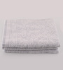 Softweave Grey Cotton 20 x 35 Bath Towel - Set of 3