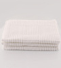 Softweave White Cotton 20 x 39 Hand Towel - Set of 3