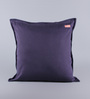 Solaj Blue Cotton 20 x 20 Inch Denim Cushion Cover