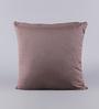 Solaj Grey Cotton 18 x 18 Inch Sequence Cushion Cover