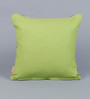 Solaj Pink Cotton 18 x 18 Inch Woven Cushion Cover