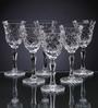 Solitaire Crystal Stemware Wine-5Oz-170mm-Diamond