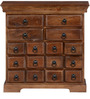 Halford Chest of Drawers in Provincial Teak Finish by Amberville