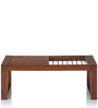 Somme Coffee Table in Walnut Finish by Tezerac