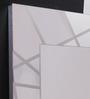 Sovet Glossy Glass Segment Designer from Italy Rectangular Wall Mirror