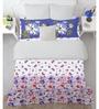 Spaces Lavender Cotton King Size Intensity Bedsheet - Set of 3
