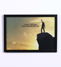 Speaking Frame Wood & Acrylic 12 x 8 Inch I Can & IQ Framed Poster