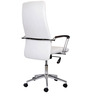Spine High Back Executive Chair in White Colour by Stellar