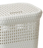 Spread Plastic 60 L White Laundry Basket