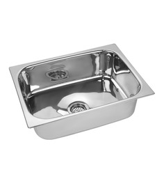 SS Silverware  Stainless Steel Single Bowl Sink - (ss-bq-sink-24x18x10)