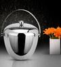 SS Silverware Double Wall Apple Shape 1500 ML Ice Bucket